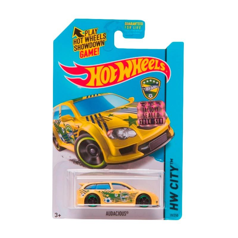 HotWheels Factory Sealed Audacious Yellow Diecast