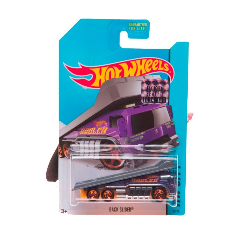 Hotwheels Factory Sealed Back Slider Purple Diecast