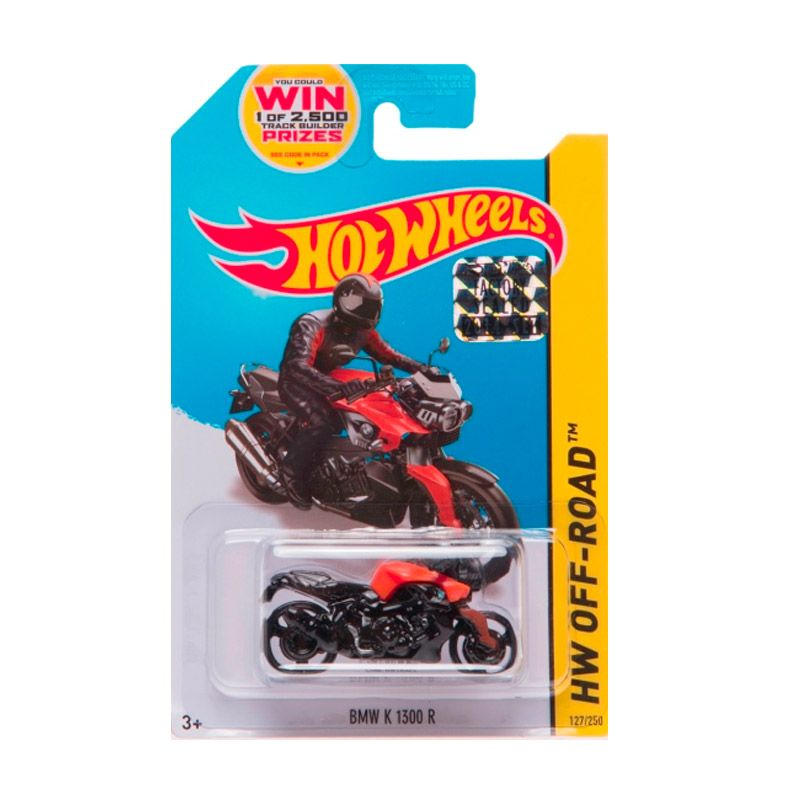 Hotwheels Factory Sealed BMW K 1300 R Black Orange Diecast