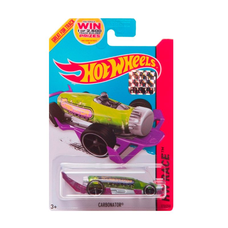 Hotwheels Factory Sealed Carbonator Green Diecast