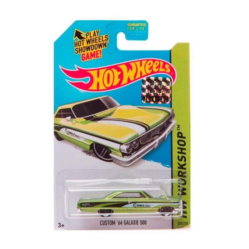 Hotwheels Factory Sealed Custom 64 Galaxie 500 Green Diecast