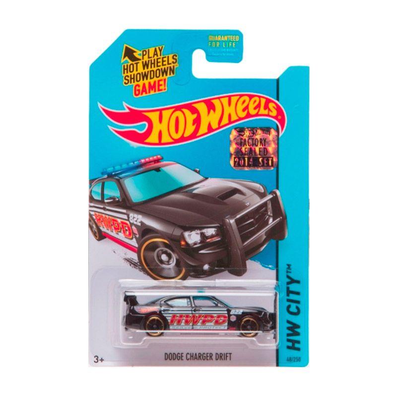 Hotwheels Factory Sealed Dodge Charger Drift Black Diecast