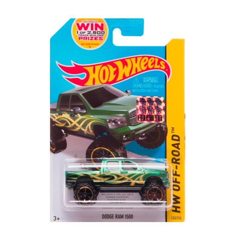 Hotwheels Factory Sealed Dodge RAM 1500 Green Diecast