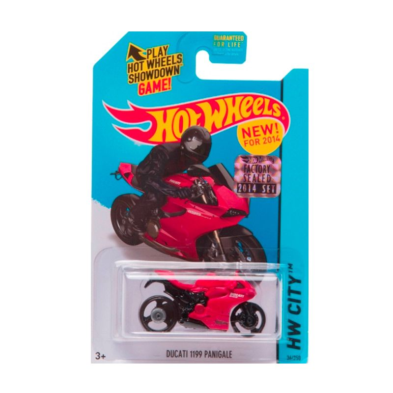 Hotwheels Factory Sealed Ducati 1199 Panigale Red Diecast