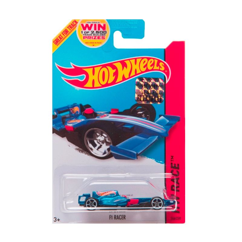 Hotwheels Factory Sealed F1 Racer Blue Diecast