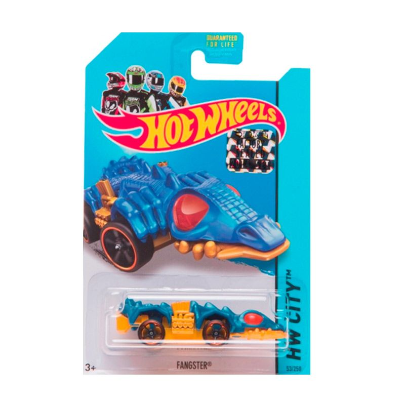 Hotwheels Factory Sealed Fangster TH Blue Diecast