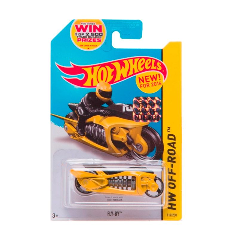 Hotwheels Factory Sealed Fly-By Yellow Diecast