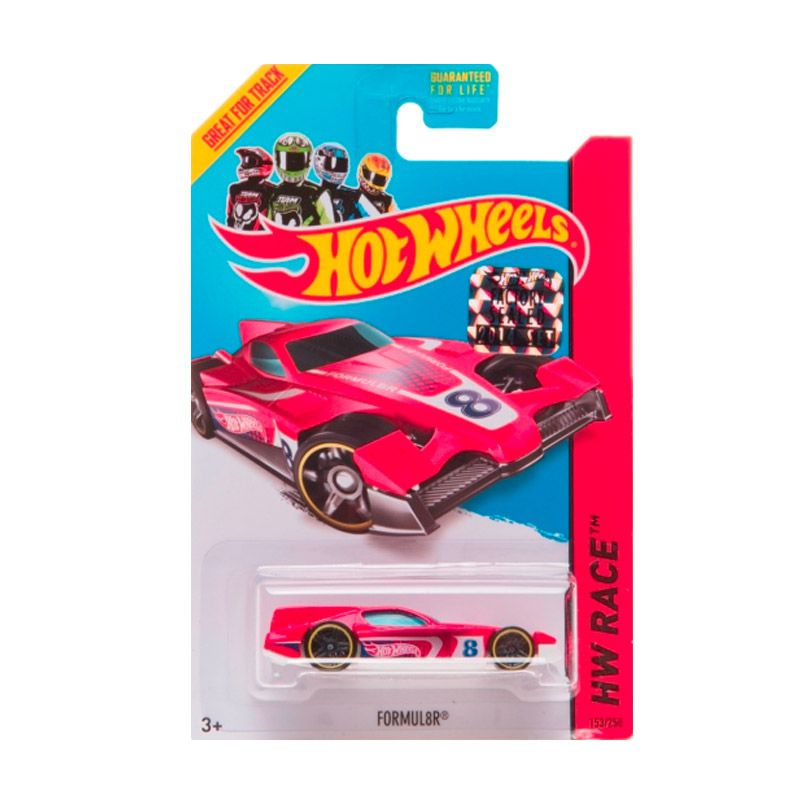Hotwheels Factory Sealed Formul8R Red Diecast