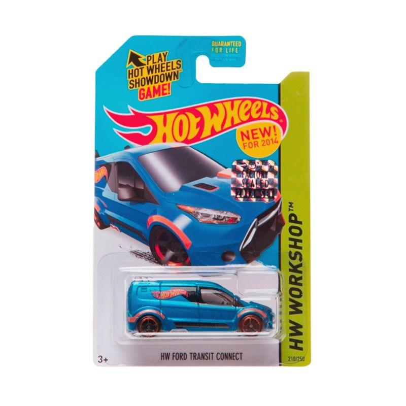 Hotwheels Factory Sealed HW Ford Transit Connect Dark Blue Diecast