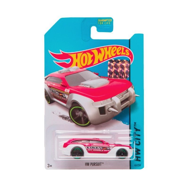 Hotwheels Factory Sealed HW Pursuit Red White Diecast