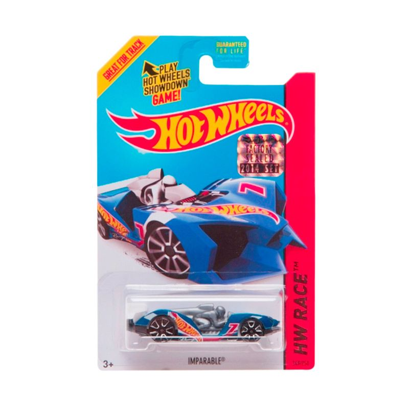 Hotwheels Factory Sealed Imparable Blue Diecast