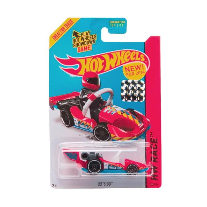 Hotwheels Factory Sealed Let's GO Red Diecast