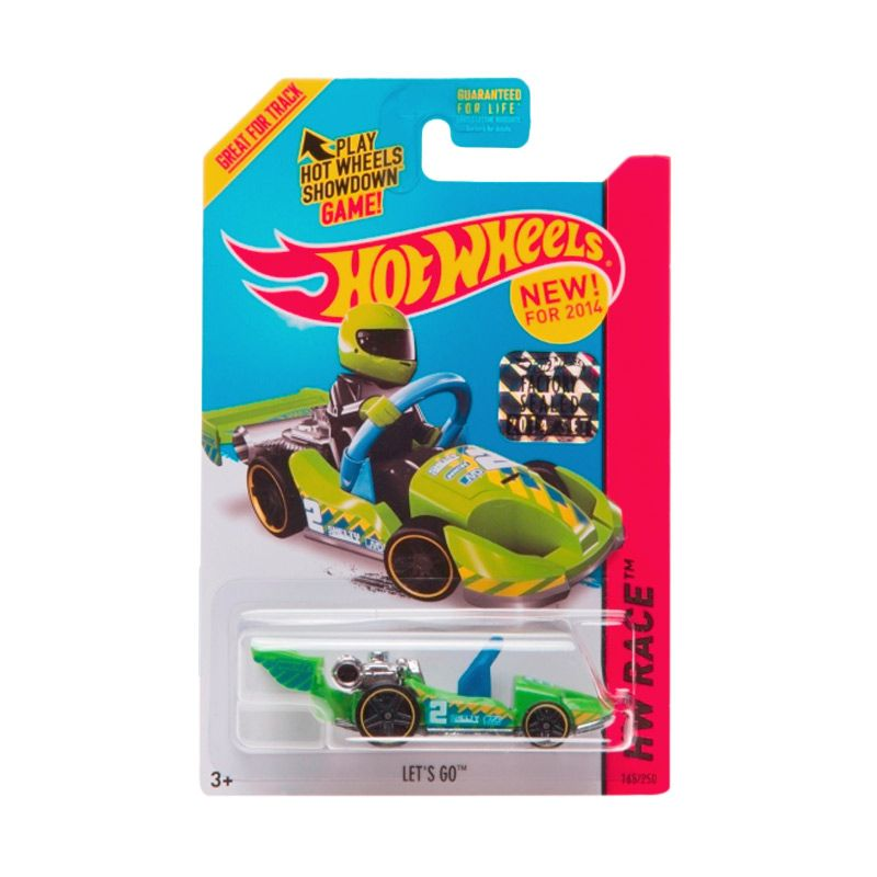 Hotwheels Factory Sealed Let's GO Green Diecast