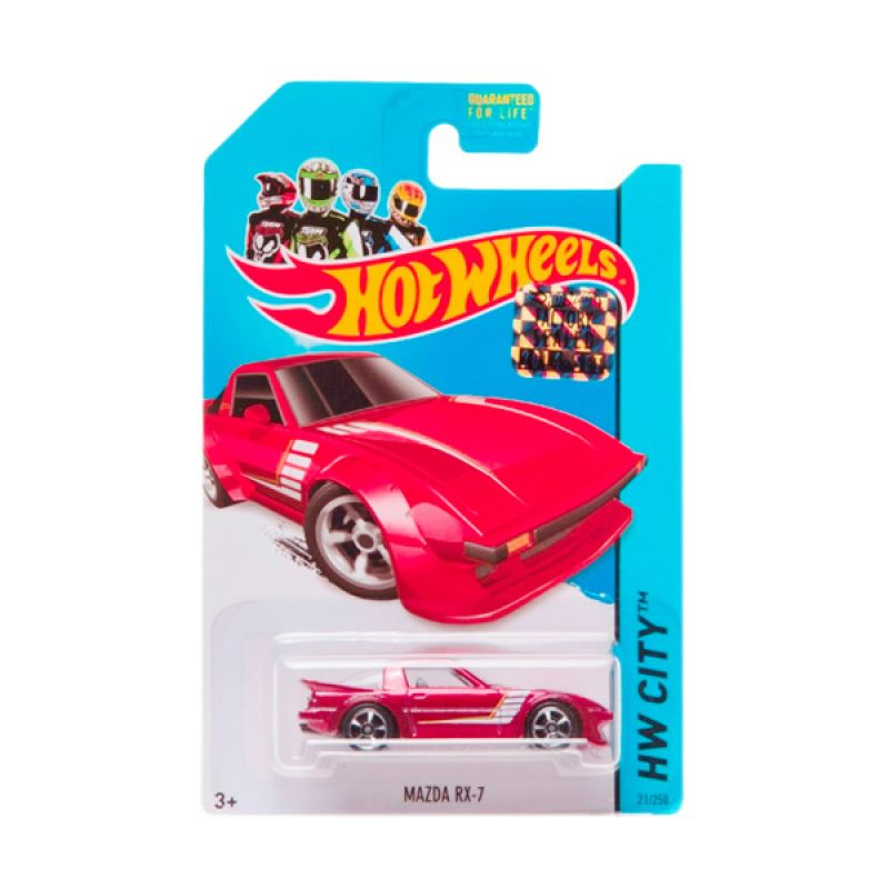 Hotwheels Factory Sealed Mazda RX-7 Red Diecast