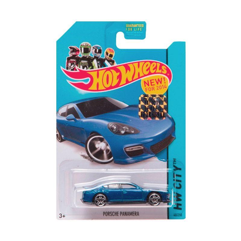 Hotwheels Factory Sealed Porsche Panamera Blue Diecast