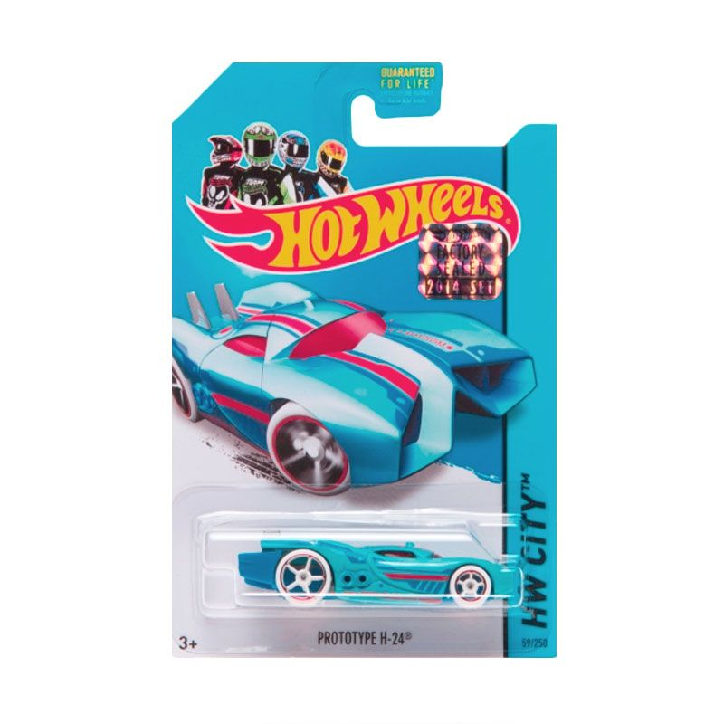 Hotwheels Factory Sealed Prototype H-24 Soft Blue Diecast