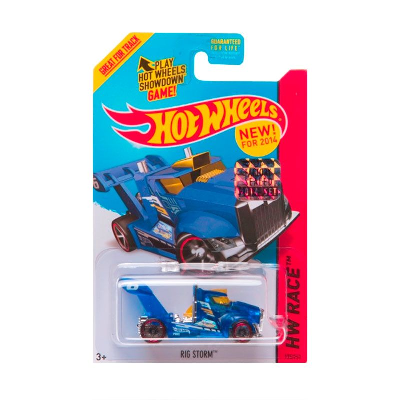 Hotwheels Factory Sealed Rig Storm Blue Diecast