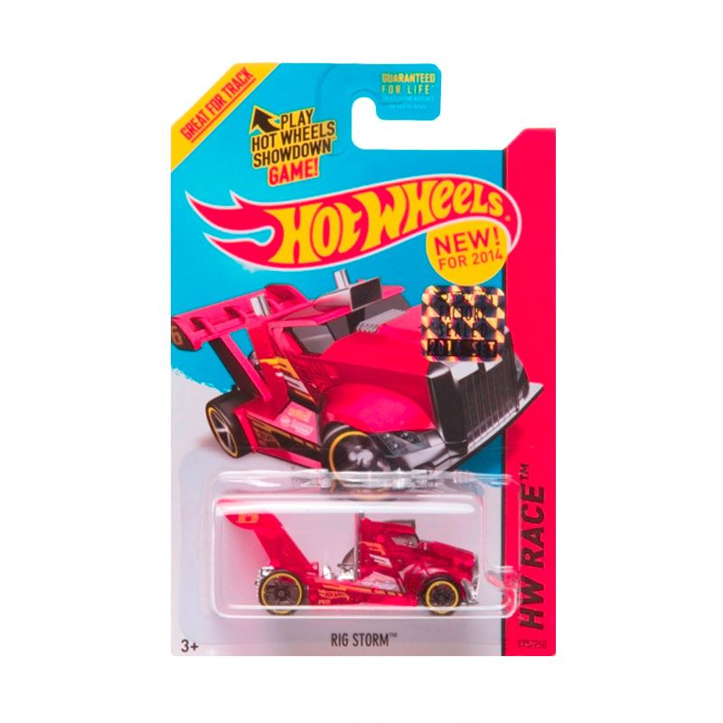 Hotwheels Factory Sealed Rig Storm Red Diecast