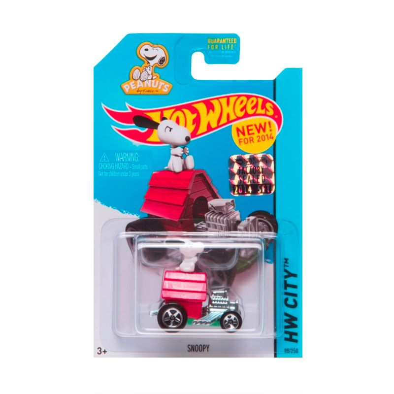 Hotwheels Factory Sealed Snoopy Red Diecast