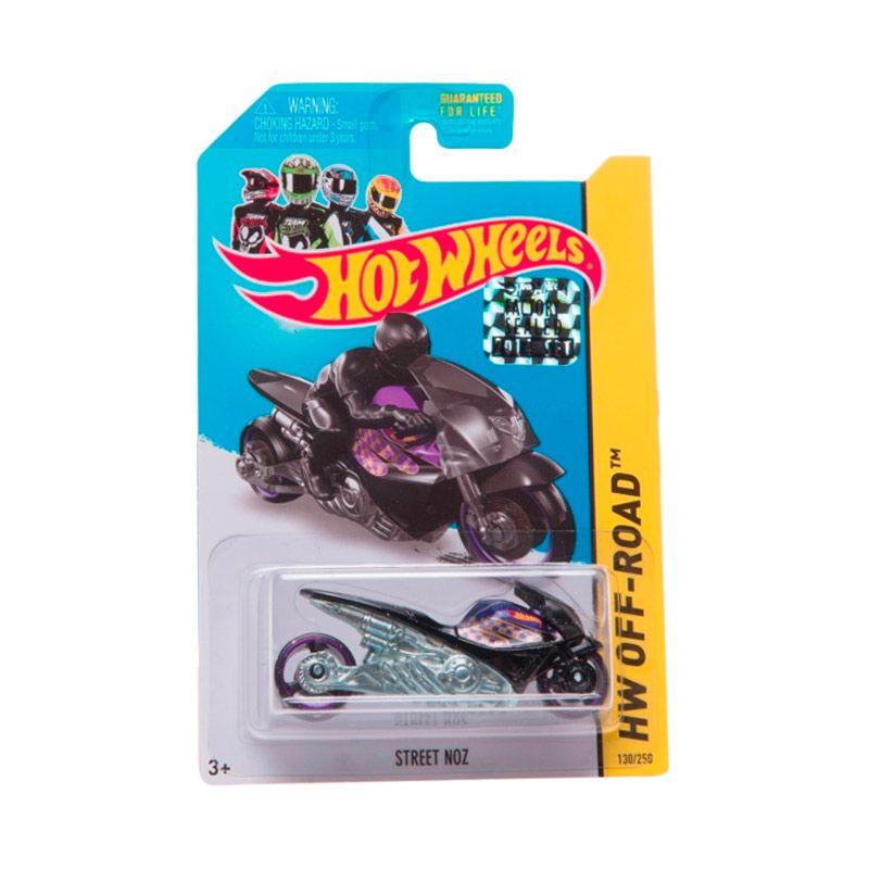 Hotwheels Factory Sealed Street Noz Black Purple Diecast
