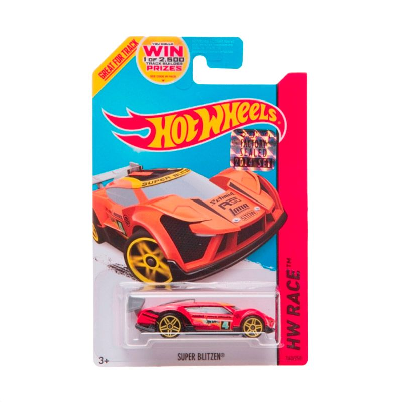 Hotwheels Factory Sealed Super Blitzen Orange Red Diecast