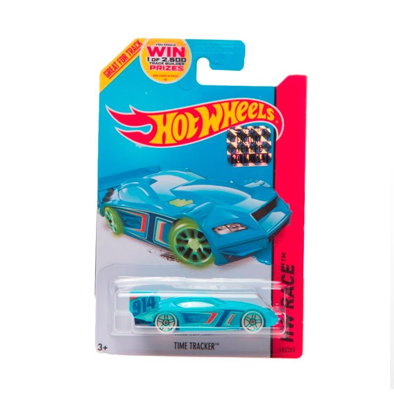 Hotwheels Factory Sealed Time Tracker Blue Diecast