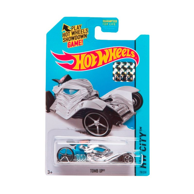 Hotwheels Factory Sealed Tomb Up Chrome Diecast