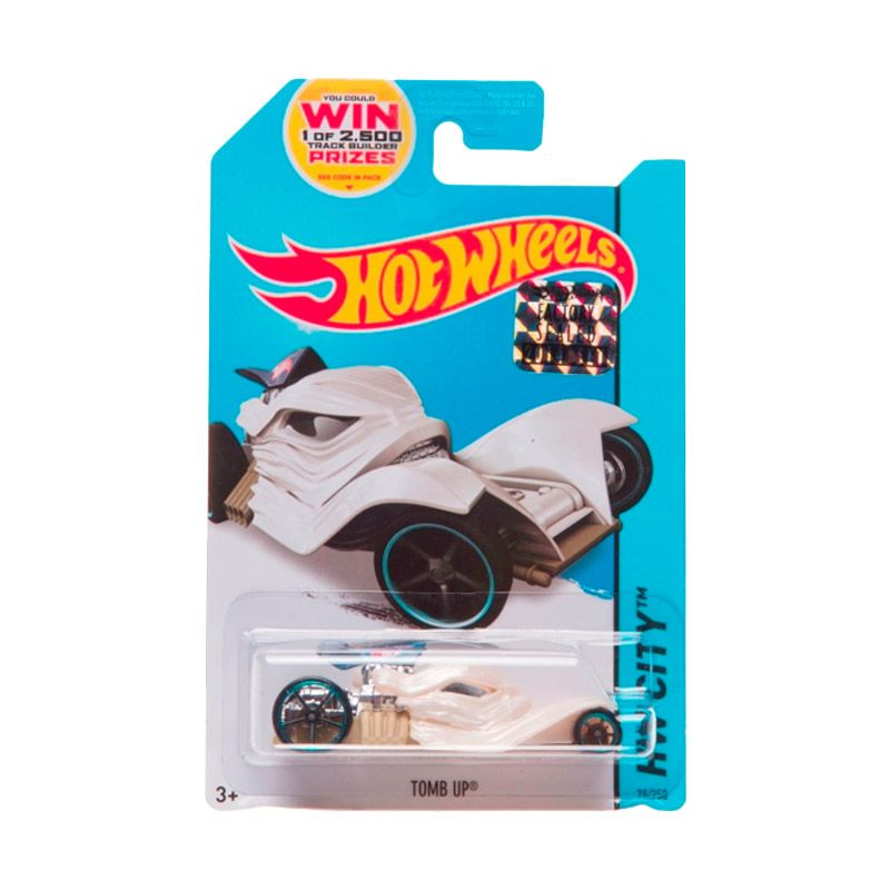 Hotwheels Factory Sealed Tomb Up White Cream Diecast