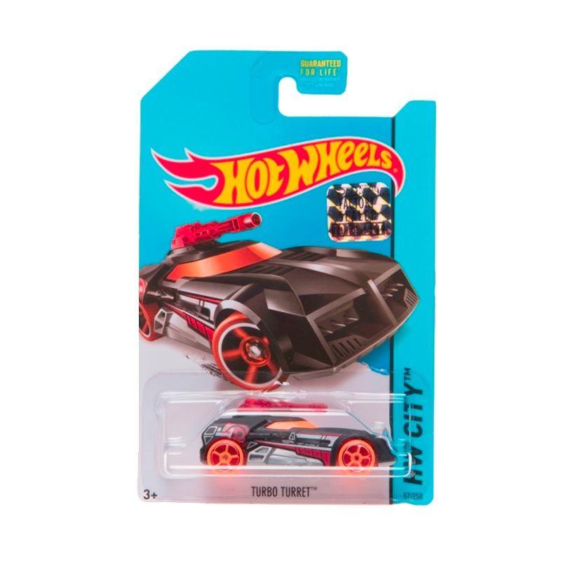 Hotwheels Factory Sealed Turbo Turret Black Diecast
