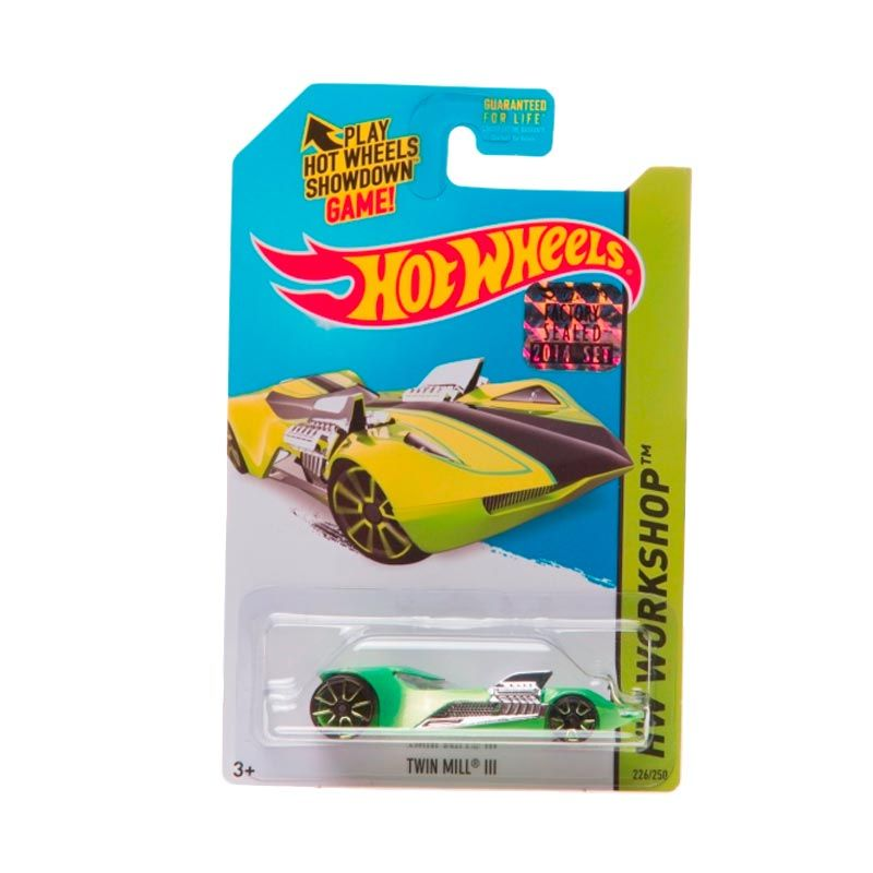 Hotwheels Factory Sealed Twin Mill III Green Diecast