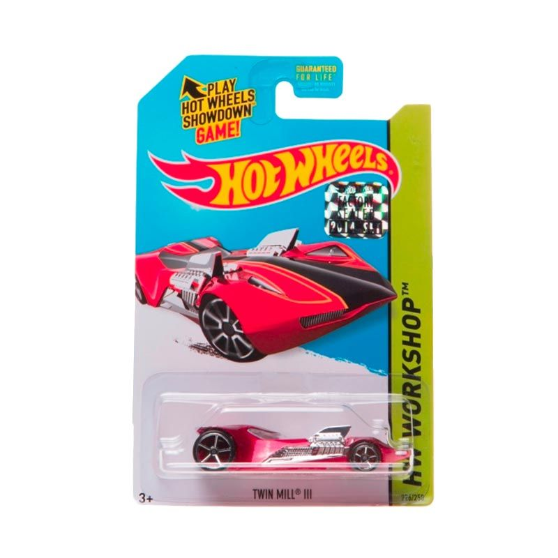 Hotwheels Factory Sealed Twin Mill III Red Diecast