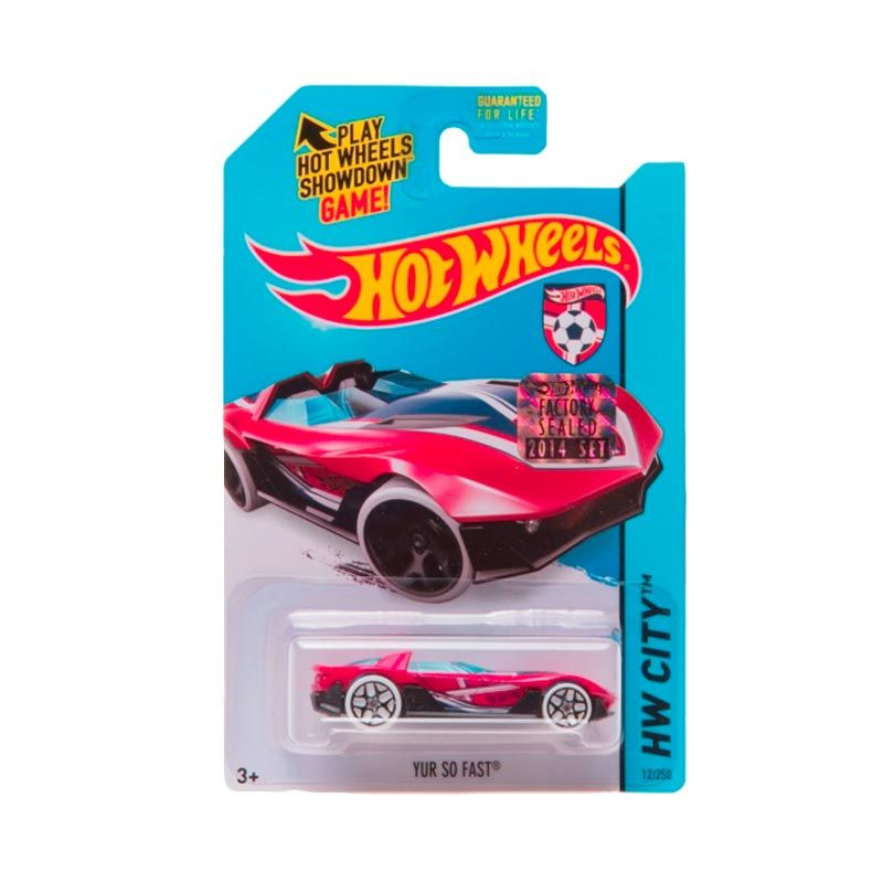Hotwheels Factory Sealed Yur So Fast Red Diecast