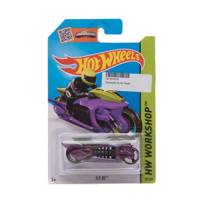 Hotwheels Workshop Fly-By Purple Diecast
