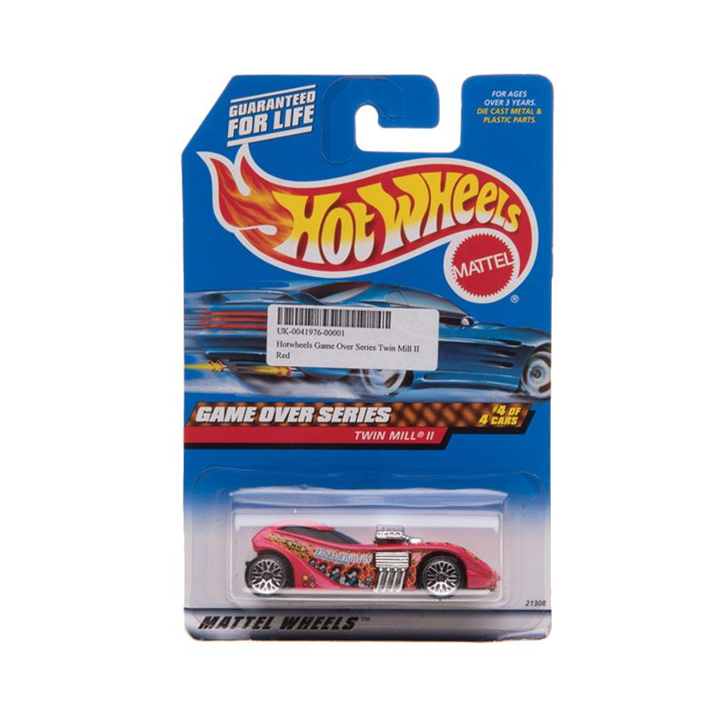 Hotwheels Game Over Series Twin Mill II Red Diecast
