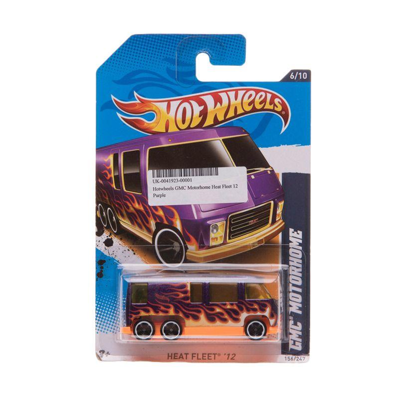 Hotwheels GMC Motorhome Heat Fleet 12 Purple Diecast