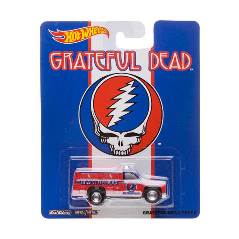 Hotwheels Greatful Dead Truck Diecast