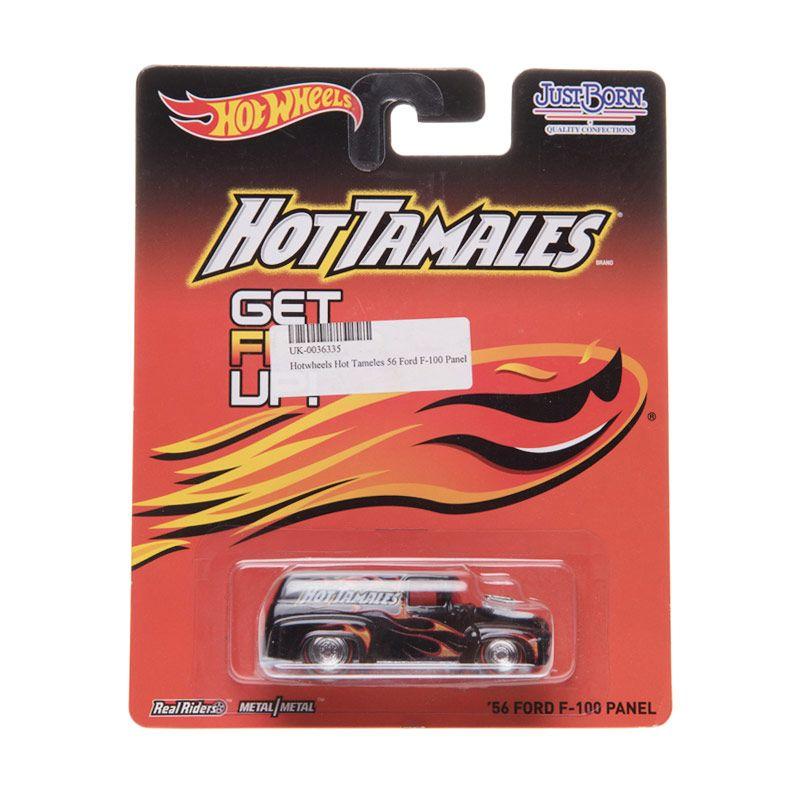 Hotwheels Hot Tameles 56 Ford F-100 Panel Black Diecast