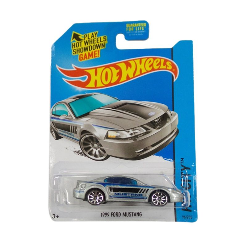 Hotwheels HW City 1999 Ford Mustang Silver Diecast