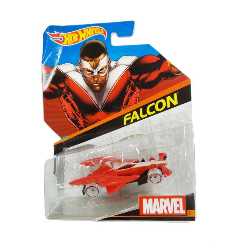 Hotwheels Marvel Falcon Red Diecast