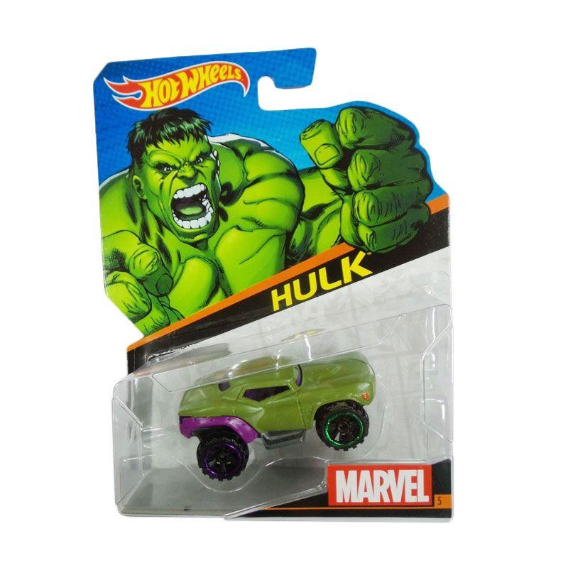 Hotwheels Marvel Hulk Dark Green Diecast