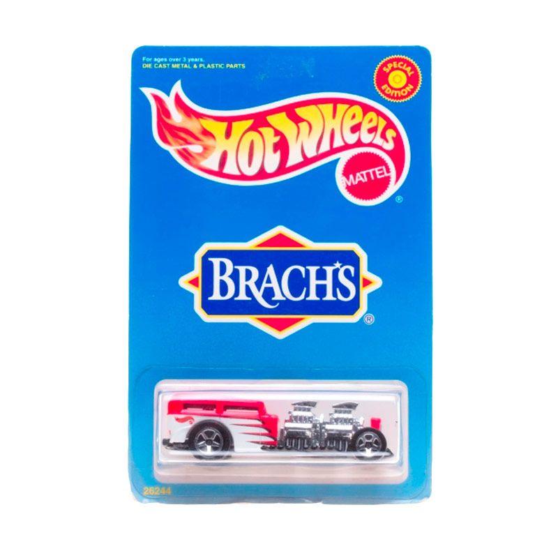 Hotwheels Mattel Brachs Red White Diecast