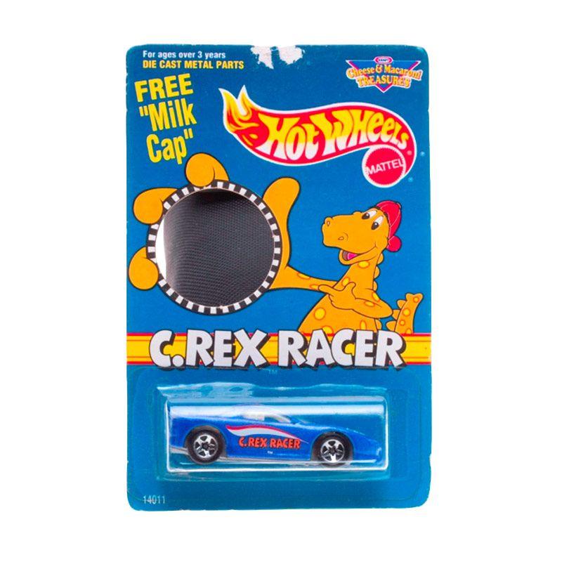Hotwheels Mattel C.Rex Racer Dark Blue Diecast