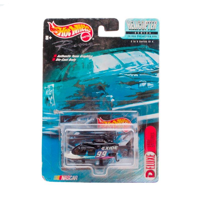 Hotwheels Mattel Helicopter Series Deluxe Exide Batteries Black Diecast