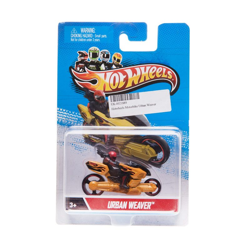 Hotwheels Motorbike Urban Weaver Orange Diecast