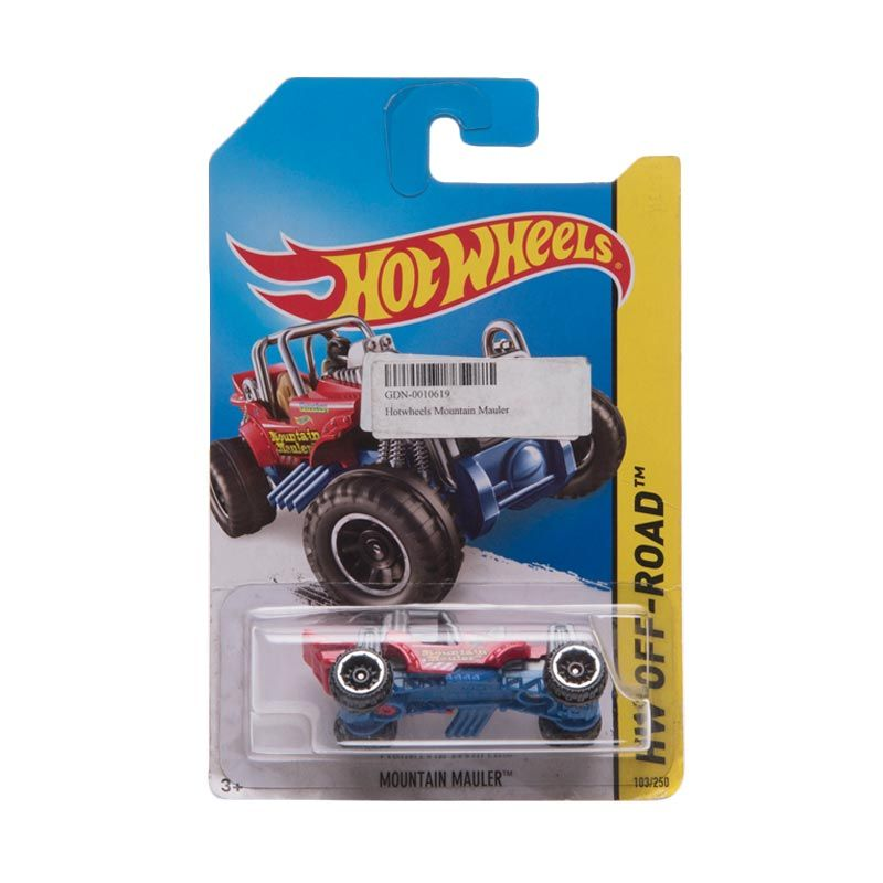 Hotwheels HW Off-Road Mountain Mauler Red Diecast