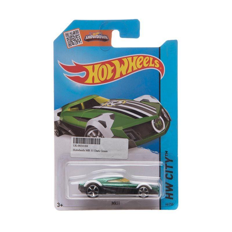 Hotwheels HW City MR11 Dark Green Diecast