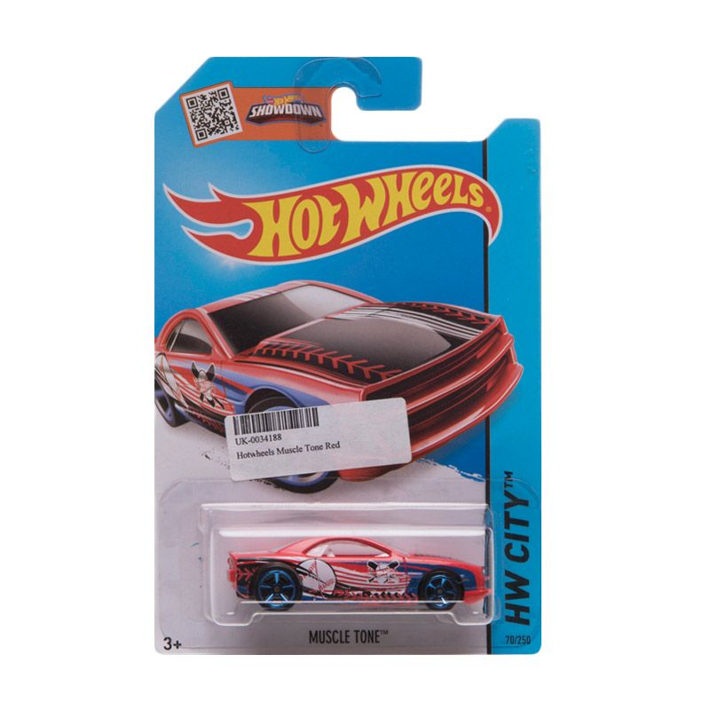 Hotwheels Muscle Tone Red Diecast