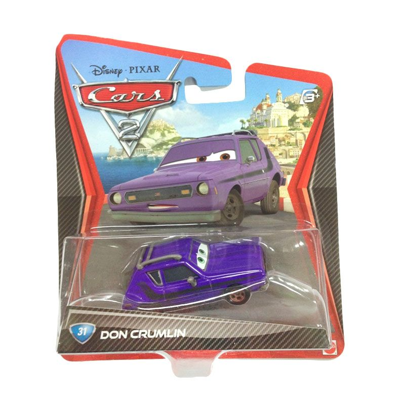 Hotwheels Pixar Cars 2 Don Crumlin Purple Diecast