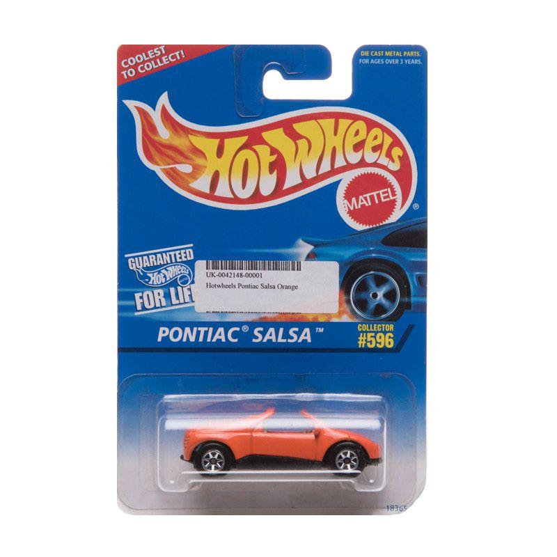Hotwheels Pontiac Salsa Orange Diecast