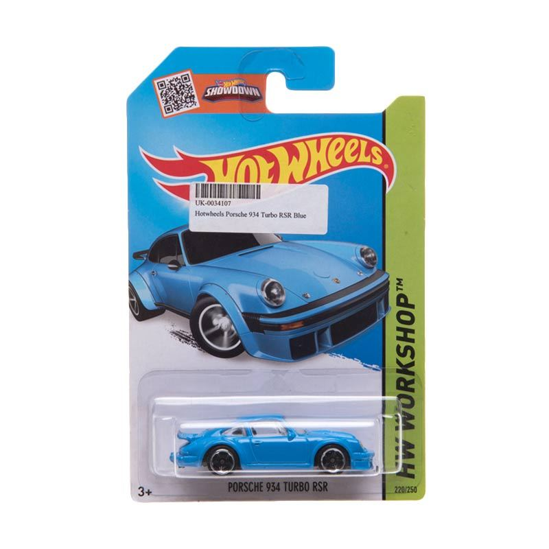 Hotwheels Porsche 934 Turbo RSR Blue Diecast
